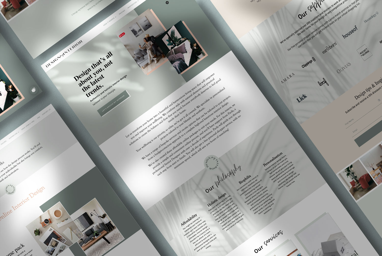 Design My Interior web design