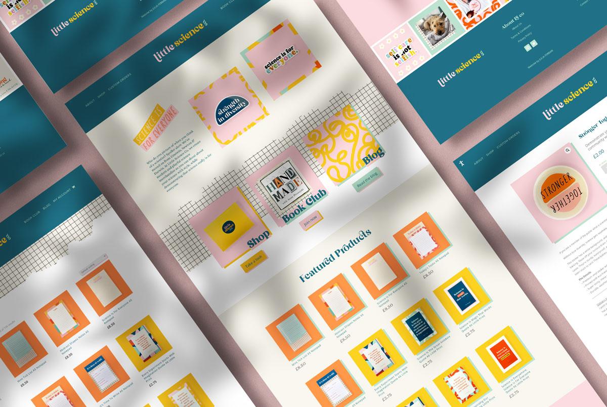 Little Science Web Design