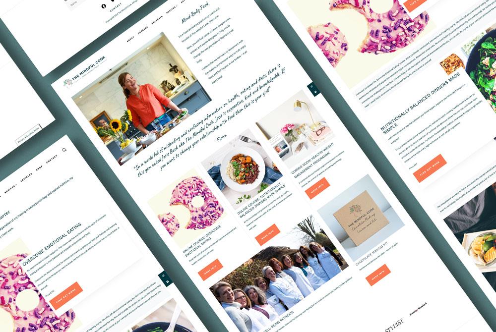 The Mindful Cook website